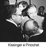 Pinochet e Kissinger