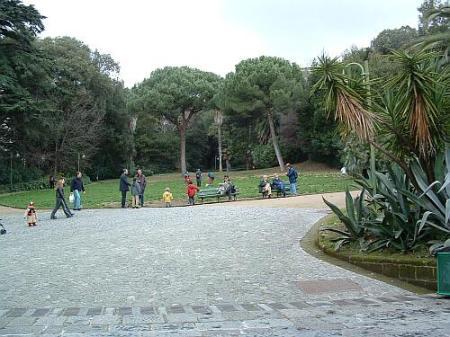 Napoli: Villa Floridiana al Vomero