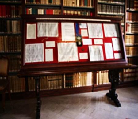 biblioteca mostra permanente dal papiro al libro di stampa