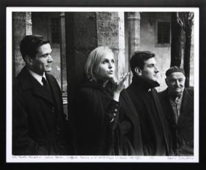 Pier-Paolo-Pasolini-Laura Betti Goffredi Parise1962